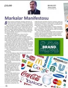 Pause Dergisi - Markalar Manifestosu