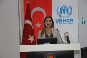 """""""Strengthening Refugee Entrepreneurship in Turkey"""" Mersin Workshop was Held-"""