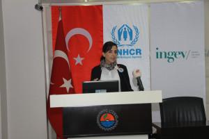 """""""Strengthening Refugee Entrepreneurship in Turkey"""" Mersin Workshop was Held-2"""