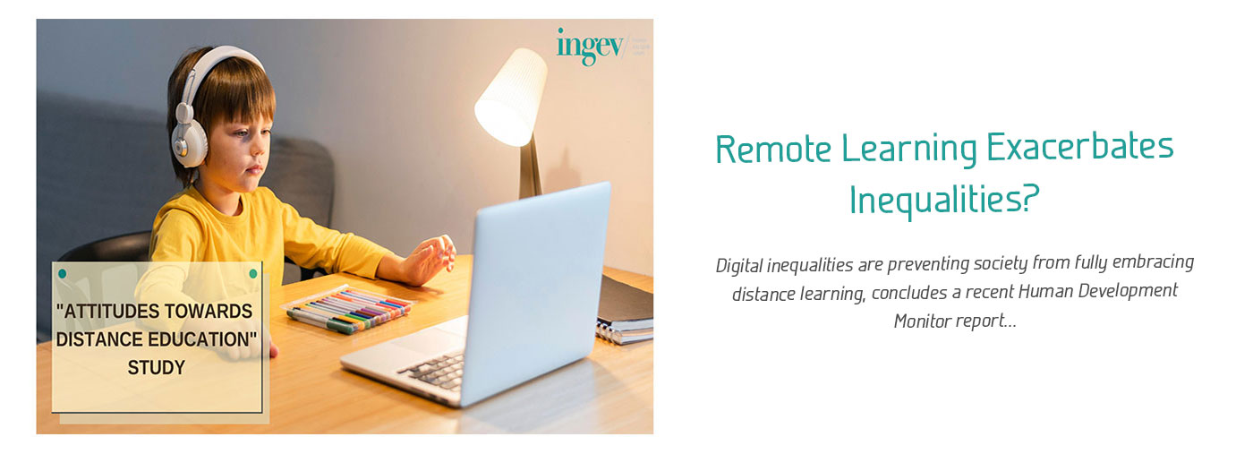 Remote Learning Exacerbates Inequalities?
