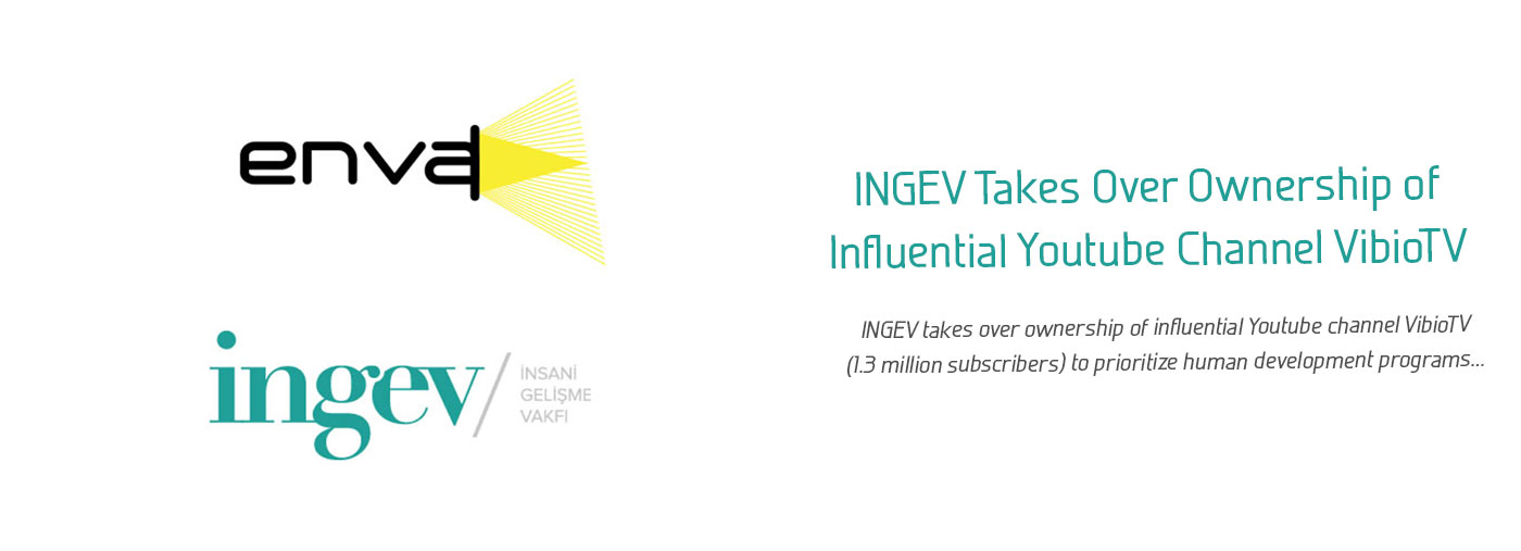 INGEV Takes Over Ownership of Influential Youtube Channel VibioTV