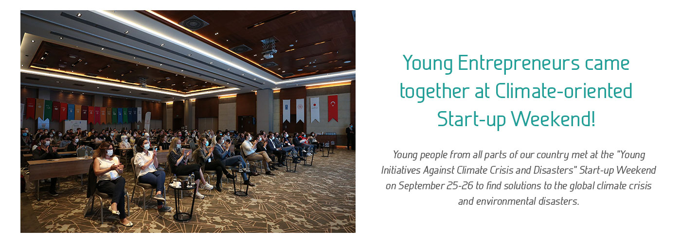 Young Entrepreneurs came together at Climate-oriented Start-up Weekend!